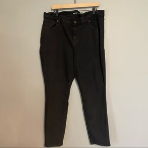 OLD NAVY plus size mid rise curvy black jeans
